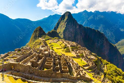 Mysterious city - Machu Picchu, Peru,South America.