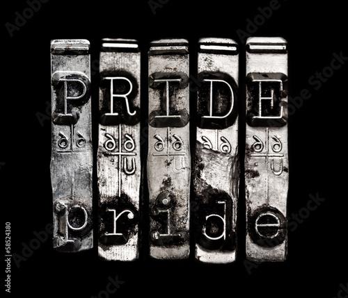 Fotografie, Obraz Sin of pride