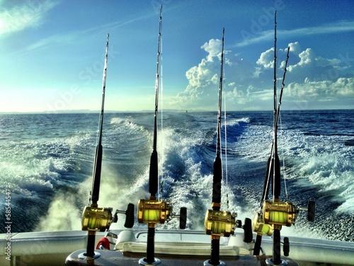 Obraz na plátne Offshore Fishing