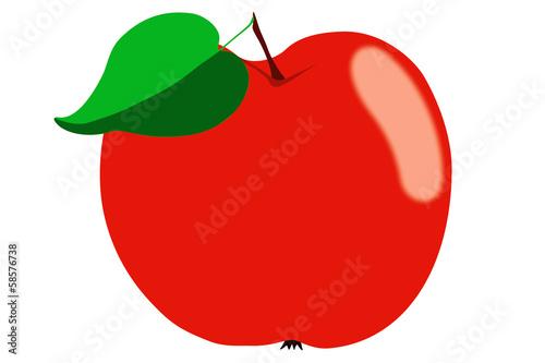 Jabłko - ilustracja