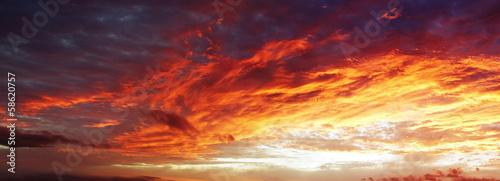 Obraz na plátne Bright sky
