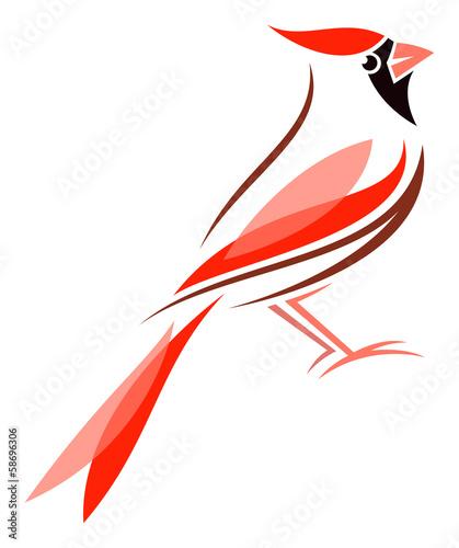 Vászonkép Virginian Cardinal