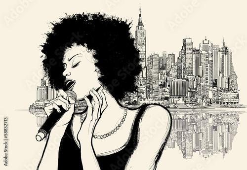 afro american jazz singer