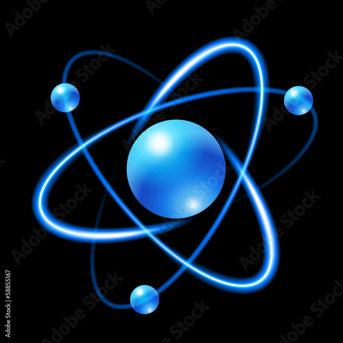 atom Fototapeta