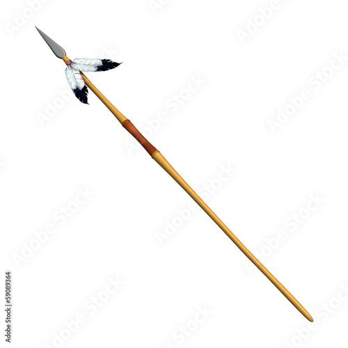 Fotografia Indian Spear