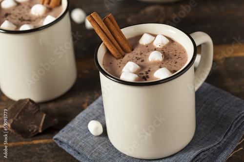 Wallpaper Mural Gourmet Hot Chocolate Milk