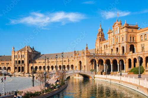 Obraz na plátne Plaza de espana