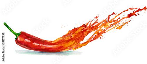 Fotografia Chile pepper
