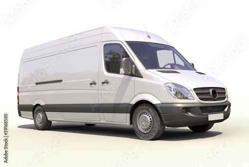 Obraz na plátně Commercial van