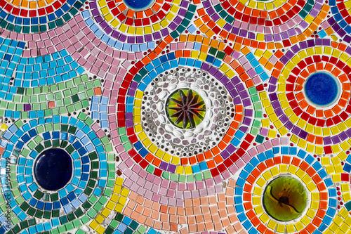 Canvas Print colorful mosaic