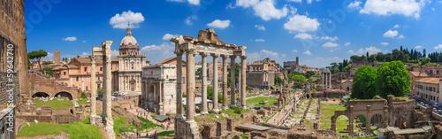Obraz na płótnie Roman Forum in Rome