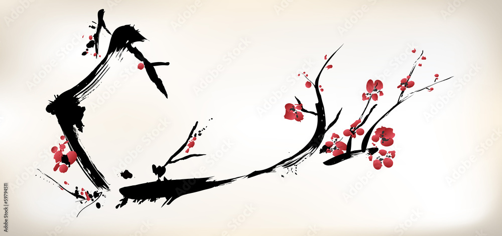 malarstwo kwiatowe <span>plik: #59794511   autor: baoyan</span>