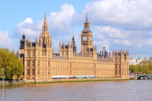 Fototapeta Palace of Westminster, London, UK