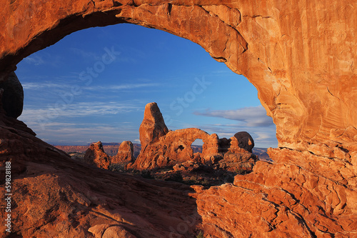Fotografía Turrent Arch in Arches National Park