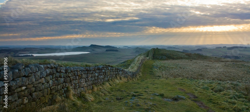 Valokuva Hadrians Wall panorama