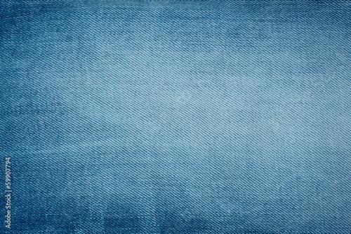 Photo Blue denim background