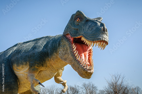 Fototapeta premium Agresywny T-Rex
