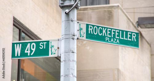 Photo Rockefeller Plaza,New York