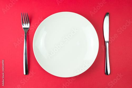 Obraz na plátně Dinner plate