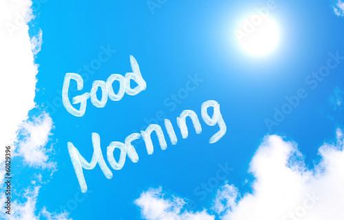 Good Morning Concept Fototapeta