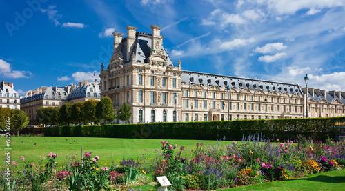 Canvas Print Louvre museum
