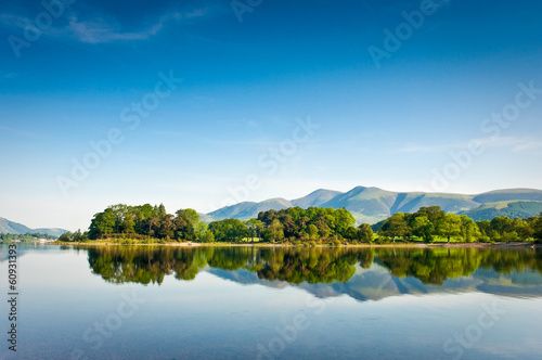 Fotografering Derwent Water, English Lake District, UK.