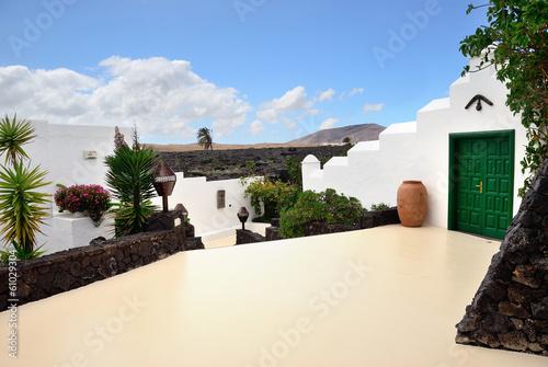 Obraz na płótnie Spanish courtyard
