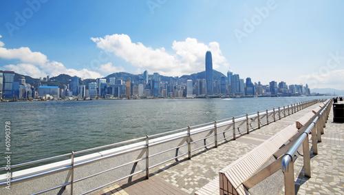 Photo China, Hong Kong waterfront buildings