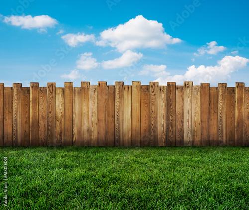 Tablou Canvas garden fence