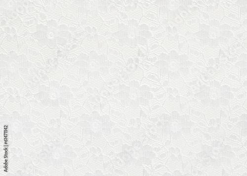 Leinwand Poster Weißer Spitzenhintergrund