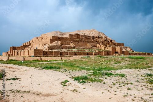 Slika na platnu Zikkurat Choqa Zanbil, Iran