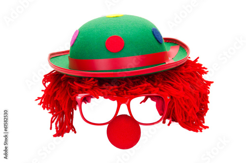 Foto Clown freigestellt