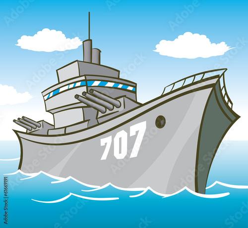 Carta da parati Battleship