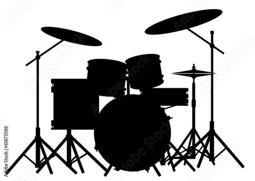 Vászonkép Drum Kit