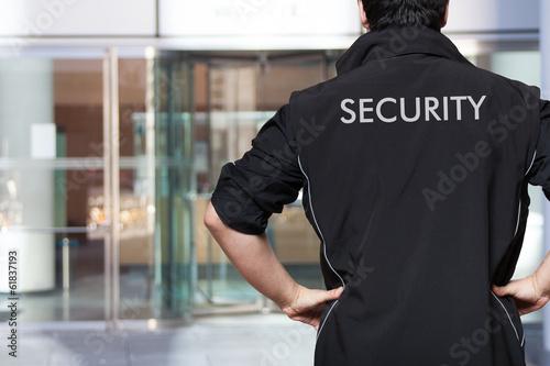 Fototapeta Security guard