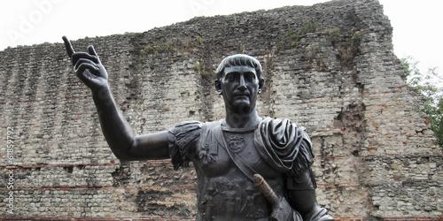 Obraz na płótnie Emperor Trajan Statue