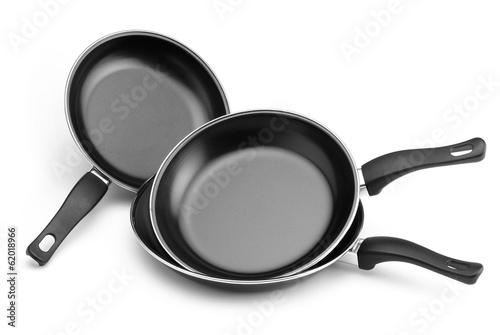 Photo frying pans