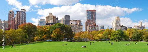 Valokuva New York City Manhattan Central Park skyline panorama