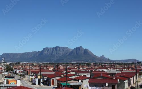 Valokuvatapetti Township in Kapstadt