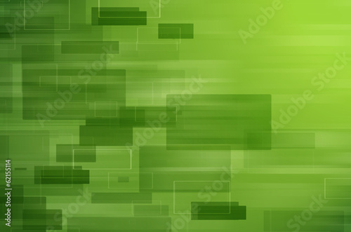 Green tech abstract background.