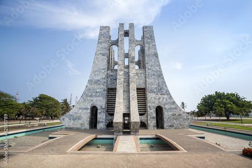 Valokuvatapetti Nkrumah Memorial Park, Accra, Ghana