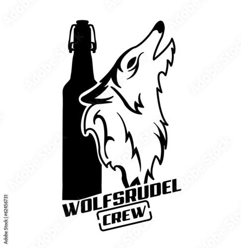 Canvas Print Wolfsrudel Crew