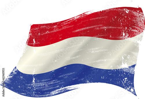 Wallpaper Mural Dutch grunge flag
