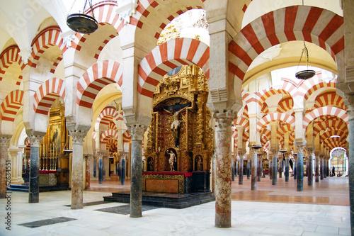 Canvas Print cathédrale de Cordoue