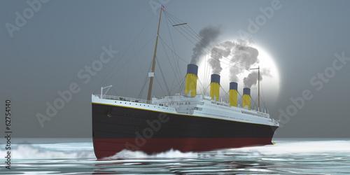 Obraz na plátně Ocean Liner