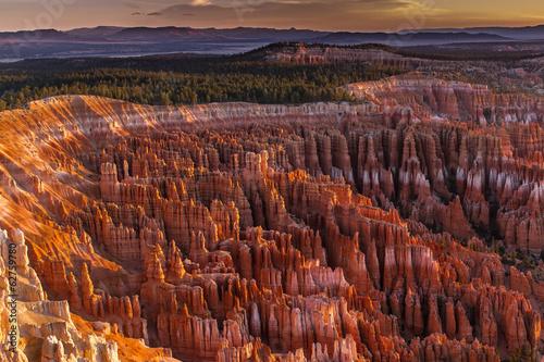 Billede på lærred Silent City - Bryce Canyon