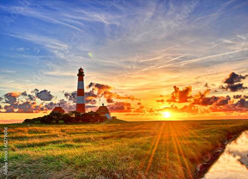 Photo Westerhever Leuchtturm