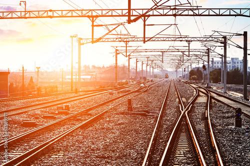 Fotografia The way forward railway