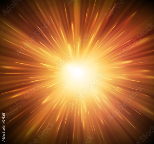 Canvas Print Background with explosion