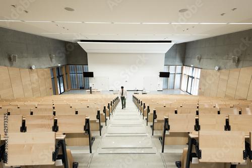 Photographie Salle de séminaire dans une université